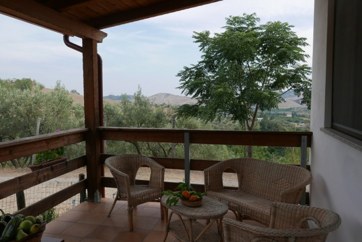 Agriturismo in Calabria_Santacinnara_appartamenti con vista