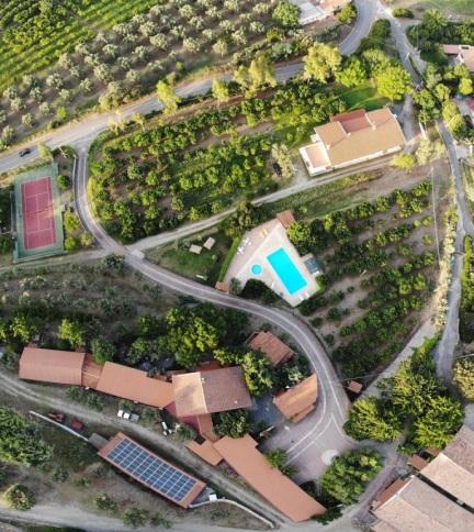 Santacinnara agriturismo in Calabria con energia rinnovabile